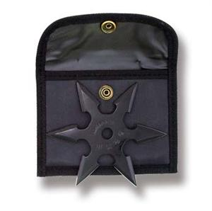 Black Six Point Throwing Star
